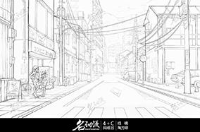 日系街道少女