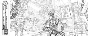战争机器人街道