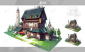 庄园韩风建筑设计