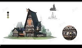 歐洲石房建筑設計