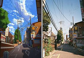 韩国上坡街道