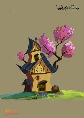 Q版歐美風小建筑5
