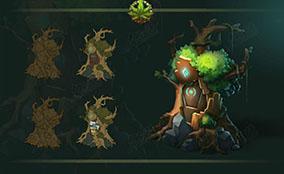 森林树精储藏室