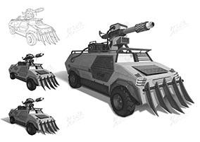 破障战斗装甲自走炮