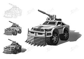 破障重型装甲车