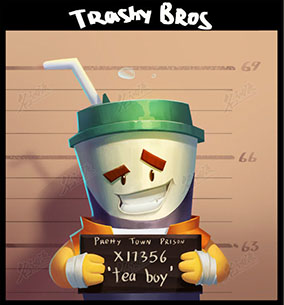 绿盖奶茶罐头人监狱照