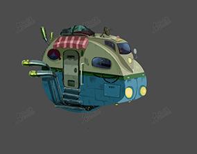Q版房車飛行器