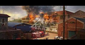 工厂火灾消防