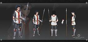 中世紀青年士兵