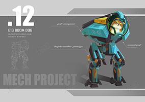 科幻游戏机械设计6