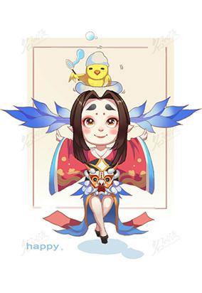 Q版和风鸟妖精2