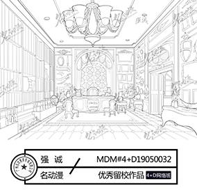 贵族大家的客厅