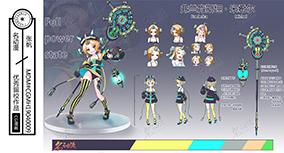 科幻武器人设女11