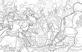 地下城与勇士战场